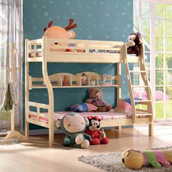 松木本色系列C30子母床高低床儿童床