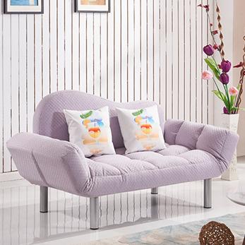简约现代卧室客厅布艺多功能可折叠沙发床两用